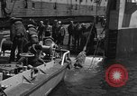 Image of mine sweep boats Sea of Japan, 1952, second 31 stock footage video 65675042591