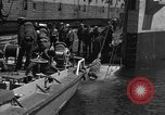 Image of mine sweep boats Sea of Japan, 1952, second 32 stock footage video 65675042591