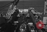 Image of Landing Crafts Vehicle Personnel Sea of Japan, 1952, second 9 stock footage video 65675042594