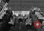 Image of Landing Crafts Vehicle Personnel Sea of Japan, 1952, second 15 stock footage video 65675042594