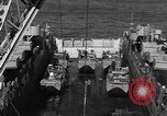 Image of Landing Crafts Vehicle Personnel Sea of Japan, 1952, second 18 stock footage video 65675042594