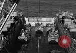 Image of Landing Crafts Vehicle Personnel Sea of Japan, 1952, second 19 stock footage video 65675042594