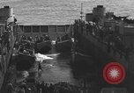 Image of Landing Crafts Vehicle Personnel Sea of Japan, 1952, second 28 stock footage video 65675042594