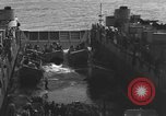 Image of Landing Crafts Vehicle Personnel Sea of Japan, 1952, second 29 stock footage video 65675042594