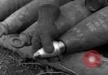 Image of United States 969th Field Artillery Unit Luxembourg, 1944, second 7 stock footage video 65675042608