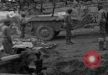 Image of United States 969th Field Artillery Unit Luxembourg, 1944, second 21 stock footage video 65675042608