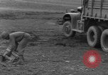 Image of United States 969th Field Artillery Unit Luxembourg, 1944, second 34 stock footage video 65675042608