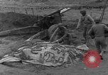 Image of United States 969th Field Artillery Unit Luxembourg, 1944, second 40 stock footage video 65675042608