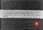 Image of Allied headquarters Germany, 1945, second 8 stock footage video 65675042614