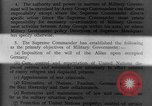 Image of Allied headquarters Germany, 1945, second 9 stock footage video 65675042614