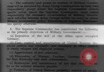 Image of Allied headquarters Germany, 1945, second 10 stock footage video 65675042614