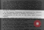 Image of Allied headquarters Germany, 1945, second 11 stock footage video 65675042614