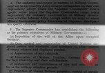 Image of Allied headquarters Germany, 1945, second 12 stock footage video 65675042614