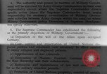 Image of Allied headquarters Germany, 1945, second 13 stock footage video 65675042614