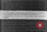 Image of Allied headquarters Germany, 1945, second 15 stock footage video 65675042614