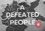 Image of German civilians Germany, 1946, second 31 stock footage video 65675042617