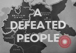 Image of German civilians Germany, 1946, second 34 stock footage video 65675042617
