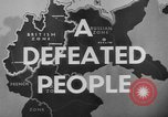 Image of German civilians Germany, 1946, second 35 stock footage video 65675042617