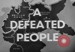 Image of German civilians Germany, 1946, second 37 stock footage video 65675042617