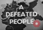 Image of German civilians Germany, 1946, second 38 stock footage video 65675042617