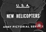 Image of United States XR-8 helicopter United States USA, 1945, second 1 stock footage video 65675042624
