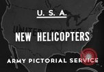 Image of United States XR-8 helicopter United States USA, 1945, second 2 stock footage video 65675042624