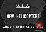 Image of United States XR-8 helicopter United States USA, 1945, second 3 stock footage video 65675042624
