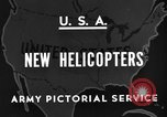 Image of United States XR-8 helicopter United States USA, 1945, second 4 stock footage video 65675042624
