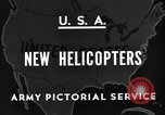 Image of United States XR-8 helicopter United States USA, 1945, second 7 stock footage video 65675042624