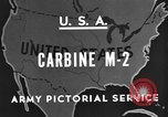 Image of M 2 Carbine United States USA, 1945, second 6 stock footage video 65675042625