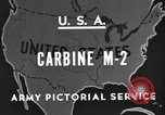 Image of M 2 Carbine United States USA, 1945, second 7 stock footage video 65675042625