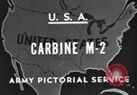 Image of M 2 Carbine United States USA, 1945, second 8 stock footage video 65675042625