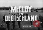 Image of John J McCloy Germany, 1949, second 18 stock footage video 65675042626