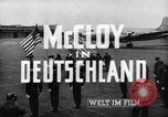 Image of John J McCloy Germany, 1949, second 19 stock footage video 65675042626