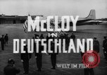 Image of John J McCloy Germany, 1949, second 21 stock footage video 65675042626