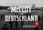 Image of John J McCloy Germany, 1949, second 22 stock footage video 65675042626