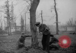 Image of Germans cutting trees for fuel in Berlin after World War 2 Berlin Germany, 1945, second 9 stock footage video 65675042630