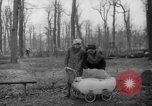 Image of Germans cutting trees for fuel in Berlin after World War 2 Berlin Germany, 1945, second 33 stock footage video 65675042630