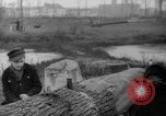Image of Germans cutting trees for fuel in Berlin after World War 2 Berlin Germany, 1945, second 48 stock footage video 65675042630