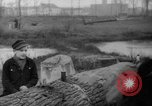 Image of Germans cutting trees for fuel in Berlin after World War 2 Berlin Germany, 1945, second 49 stock footage video 65675042630
