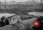 Image of Germans cutting trees for fuel in Berlin after World War 2 Berlin Germany, 1945, second 53 stock footage video 65675042630
