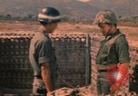 Image of South Vietnamese Regional Forces Vietnam, 1970, second 61 stock footage video 65675042676