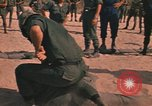 Image of hand to hand combat Vietnam, 1970, second 54 stock footage video 65675042677