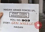 Image of General Earl G Wheeler Virginia United States USA, 1967, second 3 stock footage video 65675042719
