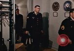 Image of military officers Virginia United States USA, 1967, second 55 stock footage video 65675042722