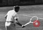 Image of Vinnie Richards Forest Hills New York USA, 1930, second 34 stock footage video 65675042728
