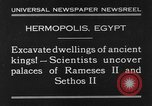 Image of Egyptian workers Hermopolis Egypt, 1930, second 2 stock footage video 65675042733