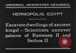 Image of Egyptian workers Hermopolis Egypt, 1930, second 3 stock footage video 65675042733