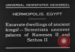 Image of Egyptian workers Hermopolis Egypt, 1930, second 4 stock footage video 65675042733