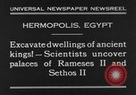 Image of Egyptian workers Hermopolis Egypt, 1930, second 9 stock footage video 65675042733